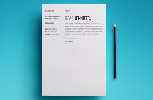 First Additional product image for - Proxima Resume Template