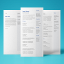 Neptune Resume Template | Documents and Forms | Resumes