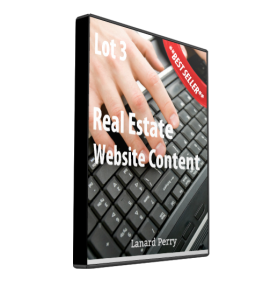 real estate website content lot #3
