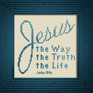 way truth life - john 14:6