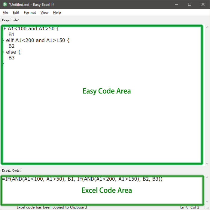 Second Additional product image for - Easy Excel If