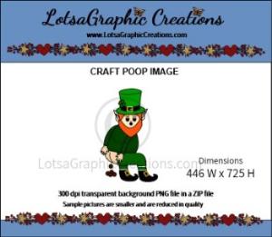 leprechaun poop clipart