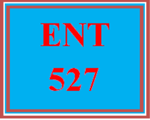 ENT 527 Wk 6 Discussion 1 | eBooks | Education