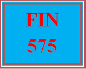 FIN 575 Wk 2 Discussion - Cash Flow Statement | eBooks | Education