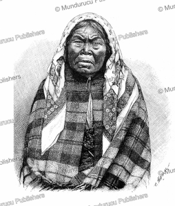 old nootka woman, northwest coast, thiriat, 1892