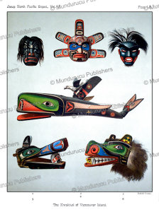 Kwakiutl Masks, Rudolf Cronau, 1905 | Photos and Images | Travel