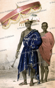 gezo, king of dahomey, frederick e. forbes, 1850