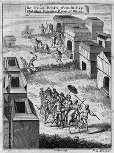 the manner of execution and the manner of transport in benin (dahomey), thomas astley, 1746