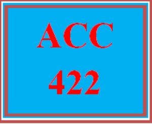 ACC 422 Wk 1 Discussion - Cash and Receivables | eBooks | Education