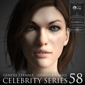 celebrity series 58 for genesis 3 and genesis 8 female
