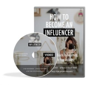 how to become an influencer video