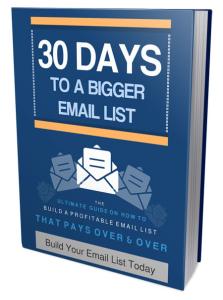 30 Days Bigger Email List | eBooks | Children's eBooks