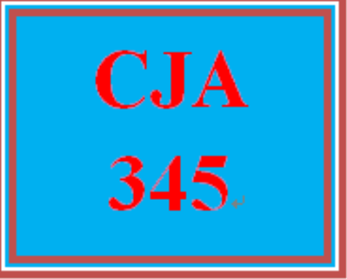 First Additional product image for - CJA 345 All Discussions