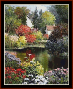 Dreams of Summer - K.R. Wallis cross stitch pattern by Cross Stitch Collectibles | Crafting | Cross-Stitch | Other