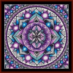 Mandala 42 cross stitch pattern by Cross Stitch Collectibles | Crafting | Cross-Stitch | Other