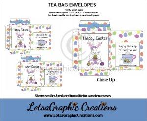easter tea bag envelopes 1