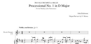 processional no. 1 in d major