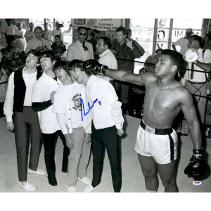 beatles  & muhammad ali