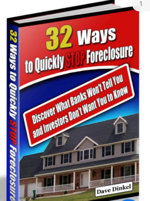 First Additional product image for - 32 Ways to Quickly Stop Foreclosure