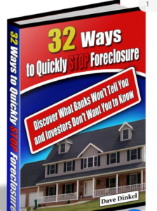 32 ways to quickly stop foreclosure