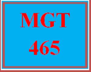 MGT 465 Week 5 Team - Business Plan Summary | eBooks | Education