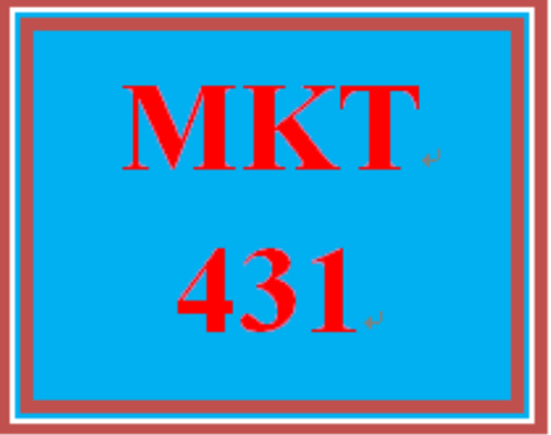 First Additional product image for - MKT 431 All Discussions