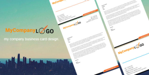 beautiful business card psd template