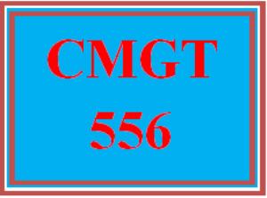 CMGT 556 Week 5 Viable ERP Solutions Presentation   eBooks   Education