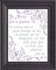 name blessings - jo anne