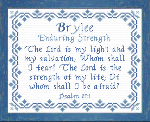 Name Blessings - Brylee | Crafting | Cross-Stitch | Other