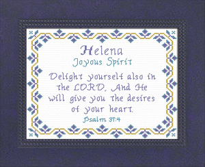 Name Blessings - Helena | Crafting | Cross-Stitch | Other