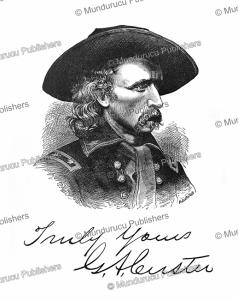 general g.a. custer, 1886