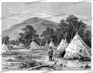 comanche camp, m von thielmann, 1903