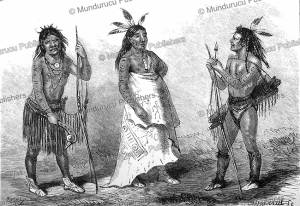 apache chief spanish spur and the warriors the surrounder and the horsecatcher, johann baptist zwecker, 1868