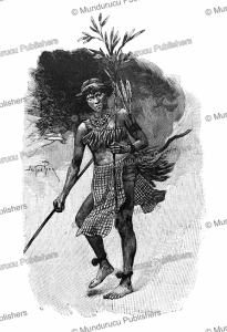 Roucouyenne Indian dancing the Toule´ in honour of a deceased, French Guiana, E´douard Riou, 1895 | Photos and Images | Digital Art