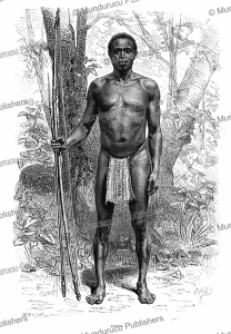 Apatou, an Oyampi Indian, French Guiana, D. Maillart, 1883 | Photos and Images | Digital Art