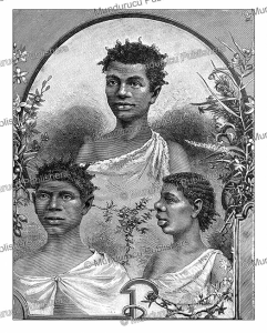 Boni or Aluku Indians of French Guiana, Jules Brunetti, 1890 | Photos and Images | Digital Art