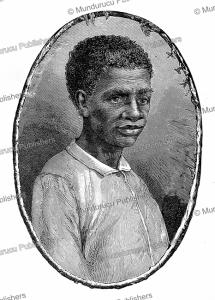 gran-man of the boni or aluku indians, french guiana, jules brunetti, 1890