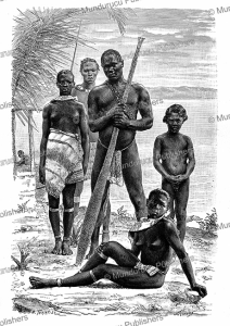aluku or boni indians of french guiana, a. rixens, 1883