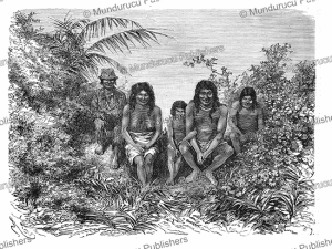 palikur or oyapock indians of french guiana and brazil, e´douard riou, 1890