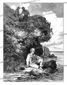 the convict charbonnel spotted by assassins, e´douard riou, 1867