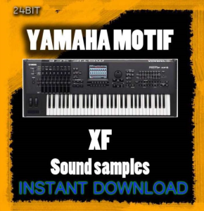 yamaha motif xf sound samples