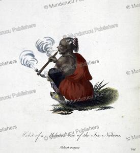 Habit of a Mohawk Iroquois Indian, Thomas Jeffreys, 1760 | Photos and Images | Digital Art