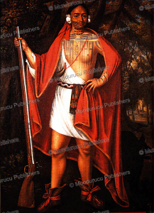 mohawk chief sa ga yeath qua pieth tow, john verelst, 1710