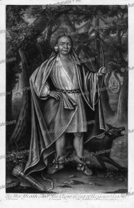 Mohawk chief Ho Nee Yeath Tan No Ron, or John of Canajoharie with tattoos on his face, John Verelst, 1710   Photos and Images   Digital Art