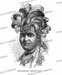 Thayendaneega, a Mohawk Chief, James Cowles Prichard, 1843 | Photos and Images | Digital Art
