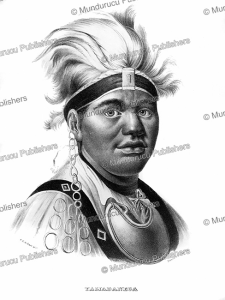 Taijadaneega or Captain Joseph Brant, a chief of the Mohawk Indians, C.C.A. Last, 1836 | Photos and Images | Digital Art