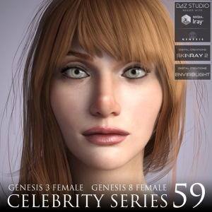 Celebrity Series 59 for Genesis 3 and Genesis 8 Female | Software | Design