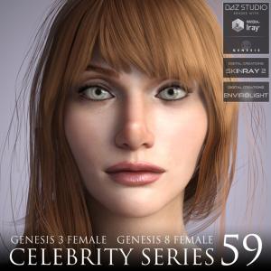 celebrity series 59 for genesis 3 and genesis 8 female