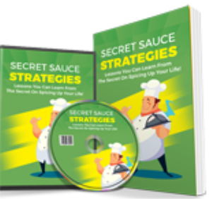Secret Sauce Strategies | eBooks | Food and Cooking